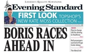 London Evening Standard - 17 March 2008