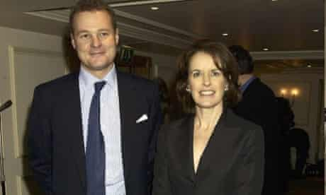Lord Rothermere and Veronica Wadley