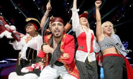 Latvian Eurovision 2008 entry Pirates of the Sea