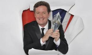 Piers Morgan. Photograph: ITV
