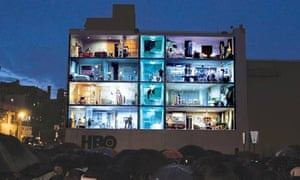 A HBO outdoor ad in which a short film allowing passers-by to watch goings-on inside eight apartments was projected on to a building won a Grand Prix award at the Cannes International Advertising Festival