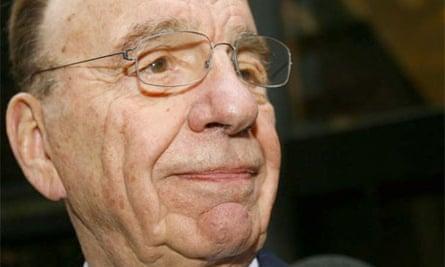 Rupert Murdoch. Photograph: Mike Segar/Reuters