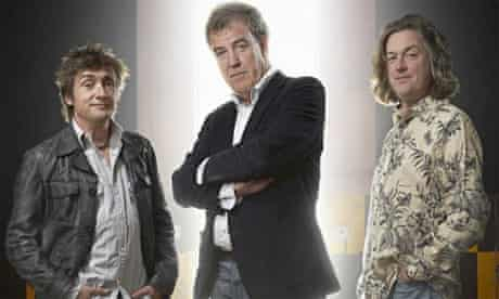 Top Gear presenters: Richard Hammond, Jeremy Clarkson and James May