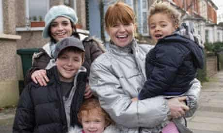 EastEnders: Bianca (Patsy Palmer) with her family