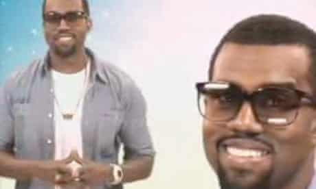 Kanye West for Viral Video Chart