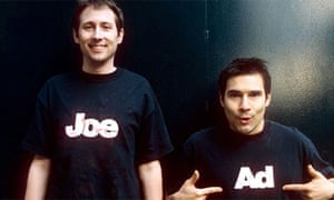 Adam Buxton and Joe Cornish - Adam and Joe Show. Photograph: Andy Hall/Rex