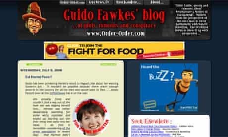 Guido Fawkes' blog
