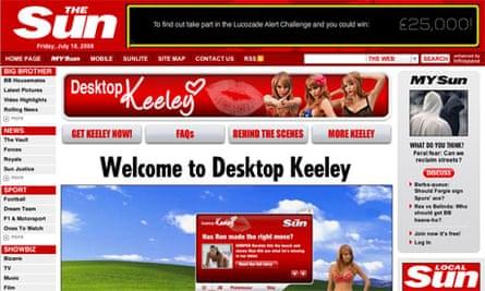 Sun Online - Desktop Keeley