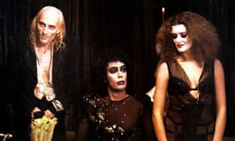 The Rocky Horror Picture Show starring Richard O'Brien, Tim Curry and Patricia Quinn