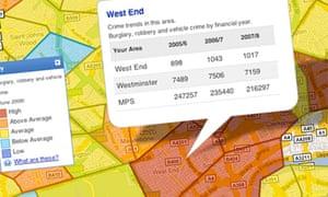 Police launch online neighbourhood crime maps | UK news ...