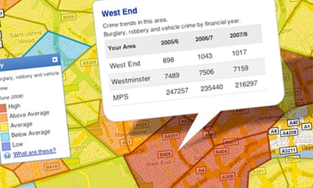 Met's crime mapping trial
