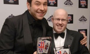 Little Britain stars David Walliams and Matt Lucas at the British Comedy Awards. Photograph: Ian West/PA