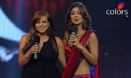 Jade Goody and Shilpa Shetty on Bigg Boss