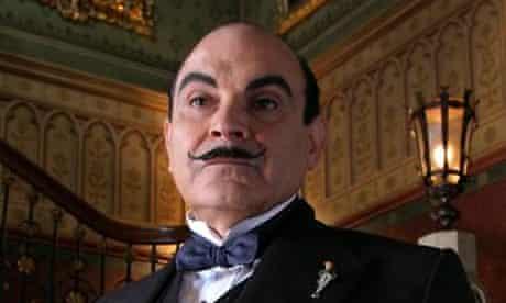 Poirot played by David Suchet