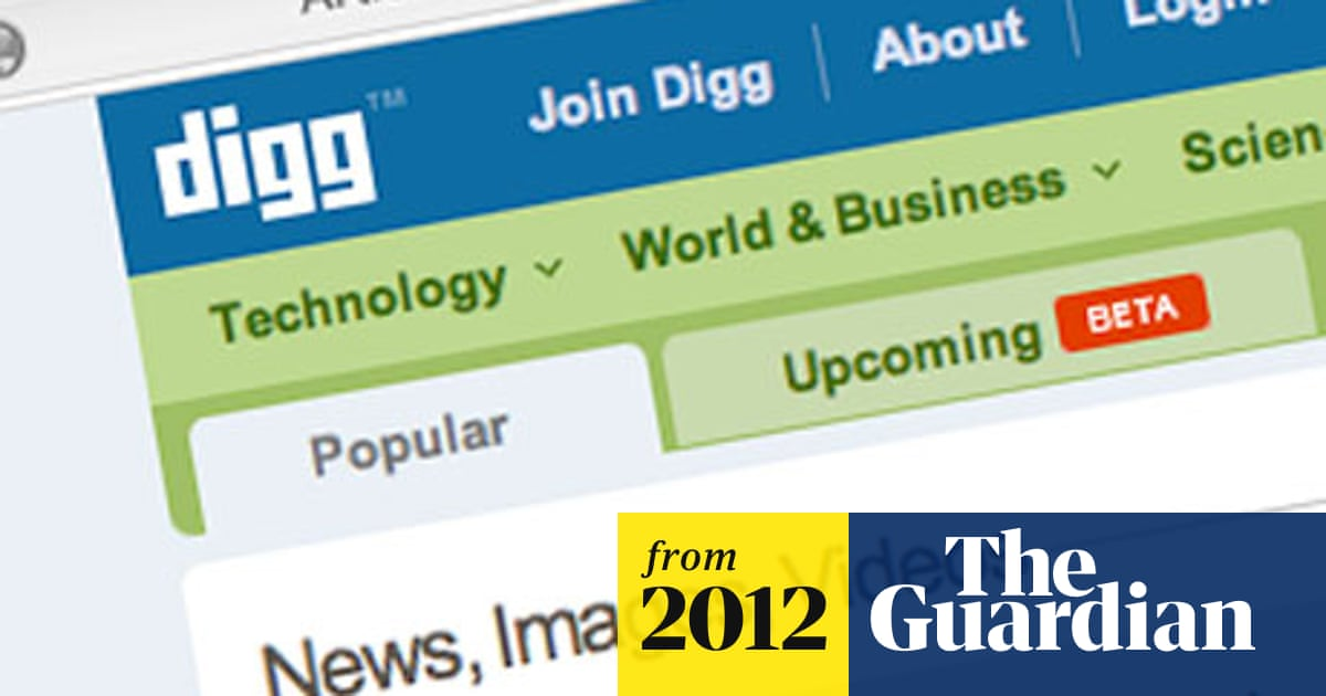 Digg sold for just $500,000 | Technology | The Guardian