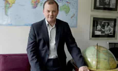 BBC global news director Richard Sambrook