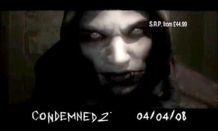 Sega Condemned 2 ad