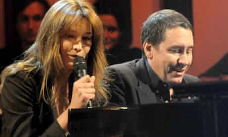 Carla Bruni on Later ... with Jools Holland