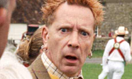 Pure anarchy: John Lydon has turned his hand to advertising Country Life butter.