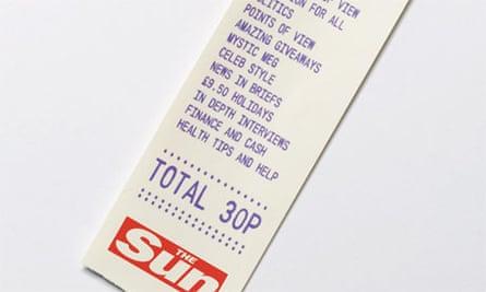 Sun 30p ad campaign poster
