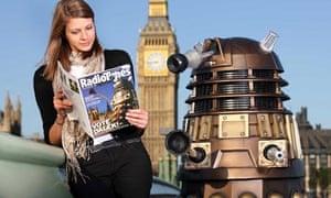 Dalek with Radio Times award-winning cover
