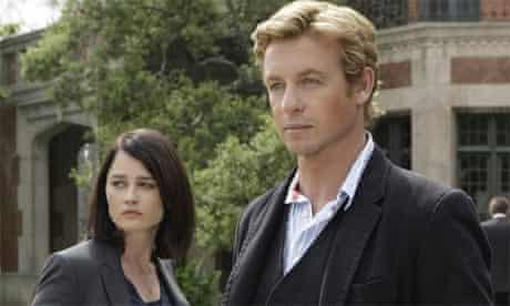 The Mentalist: Robin Tunney and Simon Baker