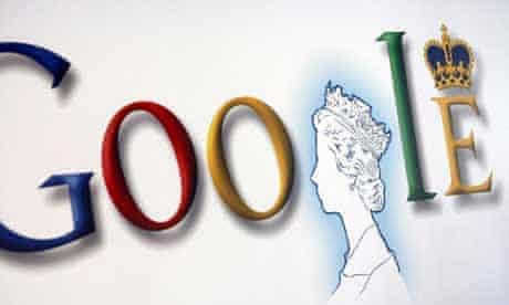 Google homepage: The Queen