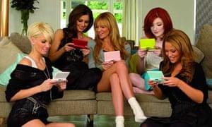 Girls Aloud in advert for Nintendo DS