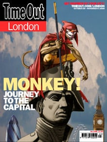 Time Out - Jame Hewlett Monkey cover