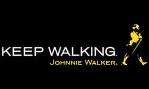 Johnnie Walker 'Keep Walking' logo