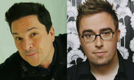 Dom Joly and Danny Wallace