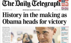 Daily Telegraph 4am US election special