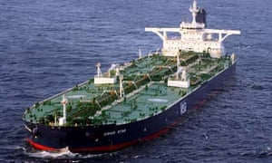 Oil tanker Sirius Star which was hijacked by Somali pirates