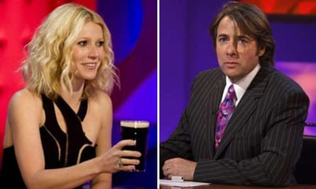 Montage: Gwyneth Paltrow and Jonathan Ross