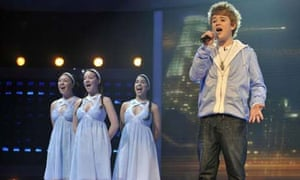 The X Factor 2008 - Eoghan