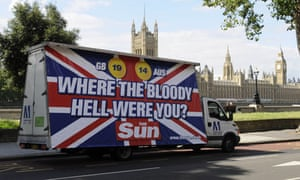Sun 'Bloody Hell' ad