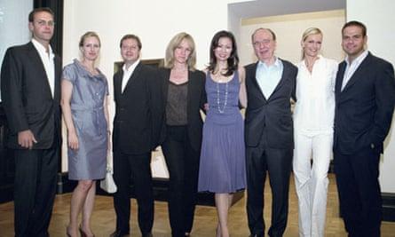 Murdoch family portrait