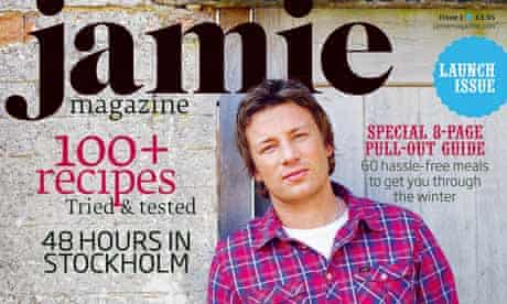 Jamie, the debut magazine from the chef Jamie Oliver