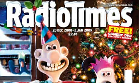 Radio Times Christmas issue - Wallace and Gromit