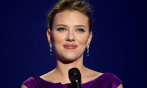 Actress Scarlett Johansson hosts the Nobel Peace Prize concert