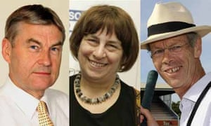 Paul Potts, Jenny Abramsky and Christopher Martin-Jenkins