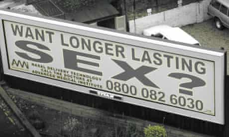 Longer Lasting Sex poster ad