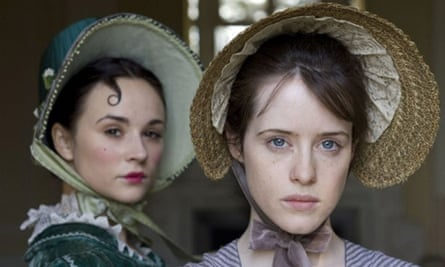 Emma Pierson and Claire Foy in Little Dorrit