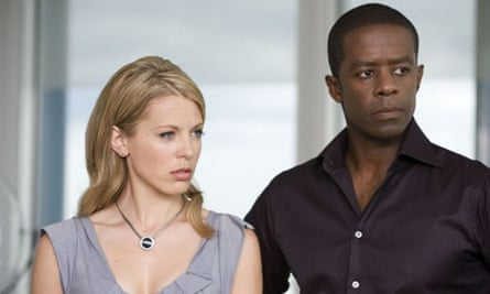 Hustle: Kelly Adams and Adrian Lester