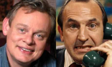Reggie Perrin: Martin Clunes and Leonard Rossiter