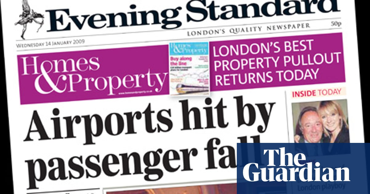 A history of the London Evening Standard: seeing off rivals for 181 years |  Alexander Lebedev | The Guardian