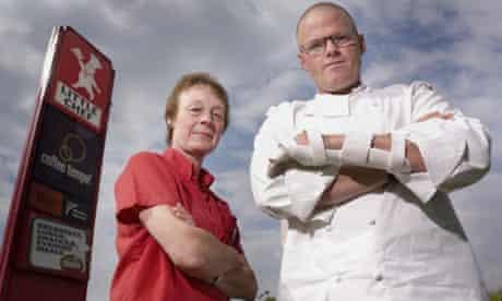 Heston Blumenthal: Big Chef Takes on Little Chef