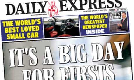Express wraparound Fiat ad