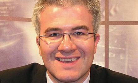 Sky News reporter Enda Brady