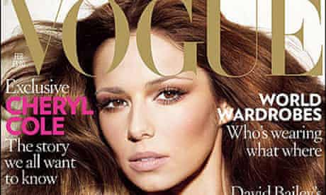 Cheryl Cole on Vogue cover - February 2009